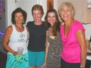Lori Compton, Tai Blue, Kristen Taylor, Sheila Shea