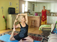 Sheila's Mermaid Yoga Pose